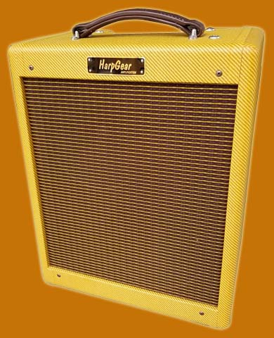 HarpGear Double Trouble Harmonica Amplifier