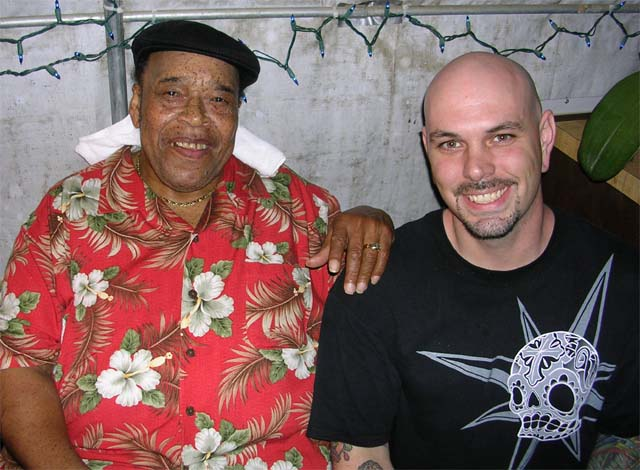 James Cotton and Brian Purdy